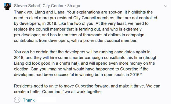 """For the PAC """"Better Cupertino"""", It's All About Power."""