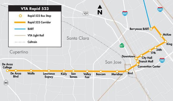 Smart Mass Transit Centered Development for Cupertino