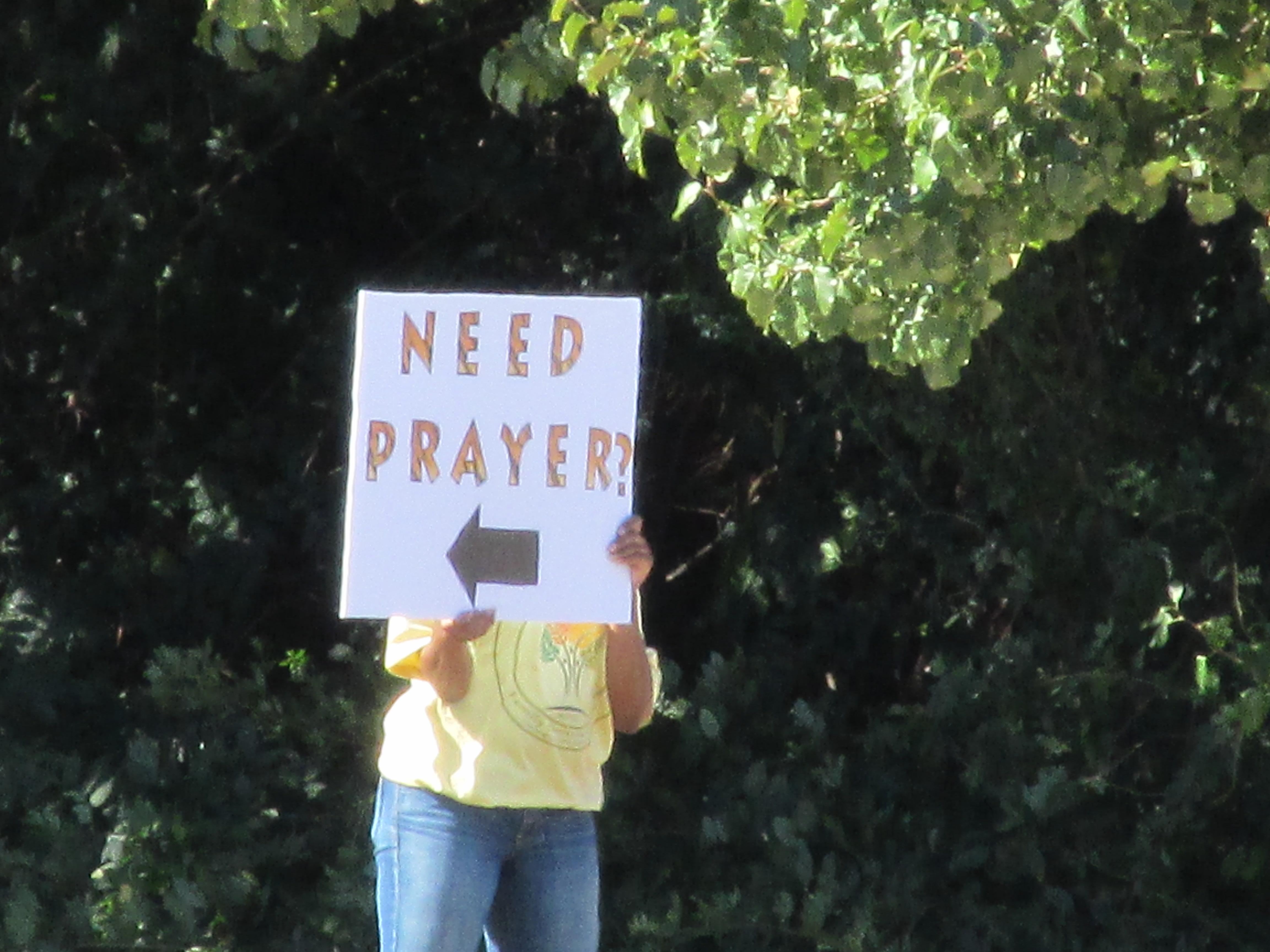 Drive-thru Prayer Walk 6