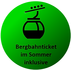 Bergbahnticket inklusive Bergfried Klein