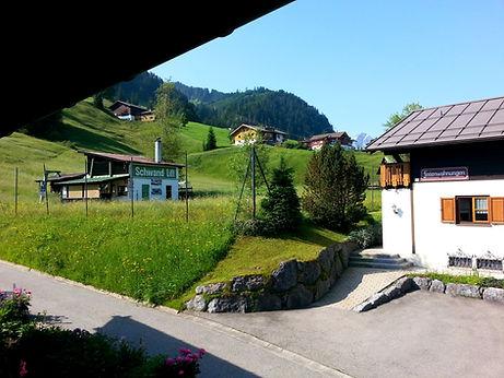 Ausblick Schlafzimmer Bergfried