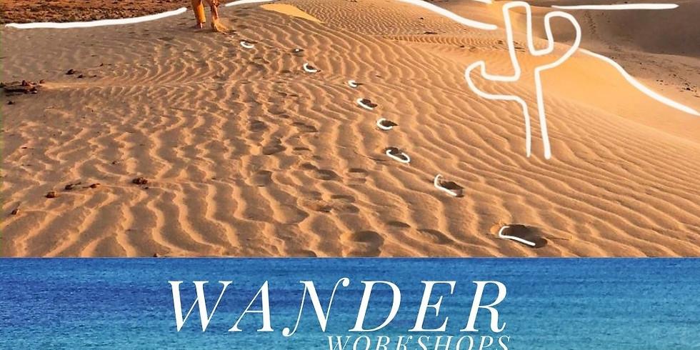 Wander: Pre Seder Workshops