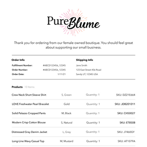How Our New Branded Invoice Feature Will Help You Personalize Customer's Orders