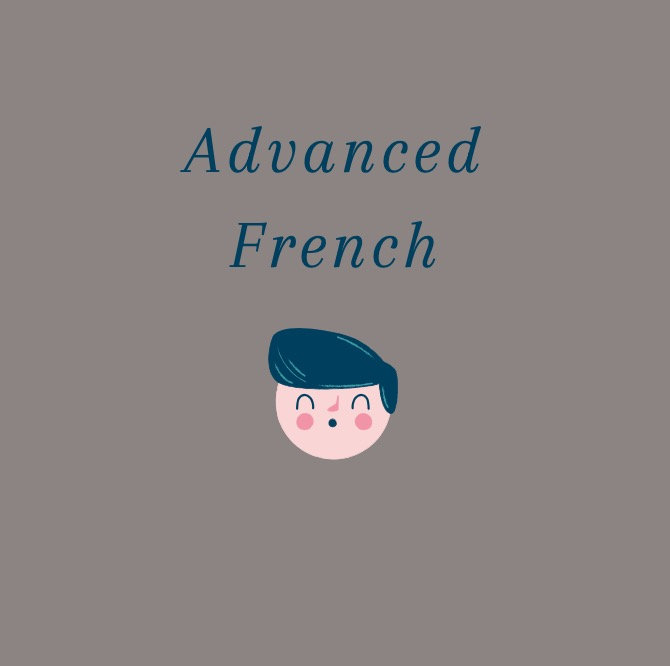 Advanced French