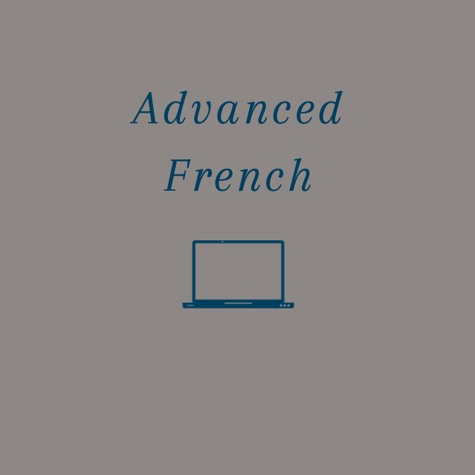 Advanced French ONLINE