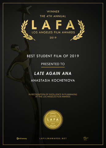 Late Again Ana Short Film Winner S