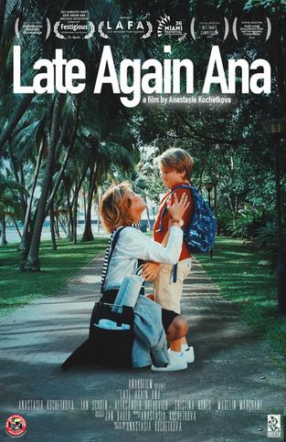 Late Again Ana Film Poster