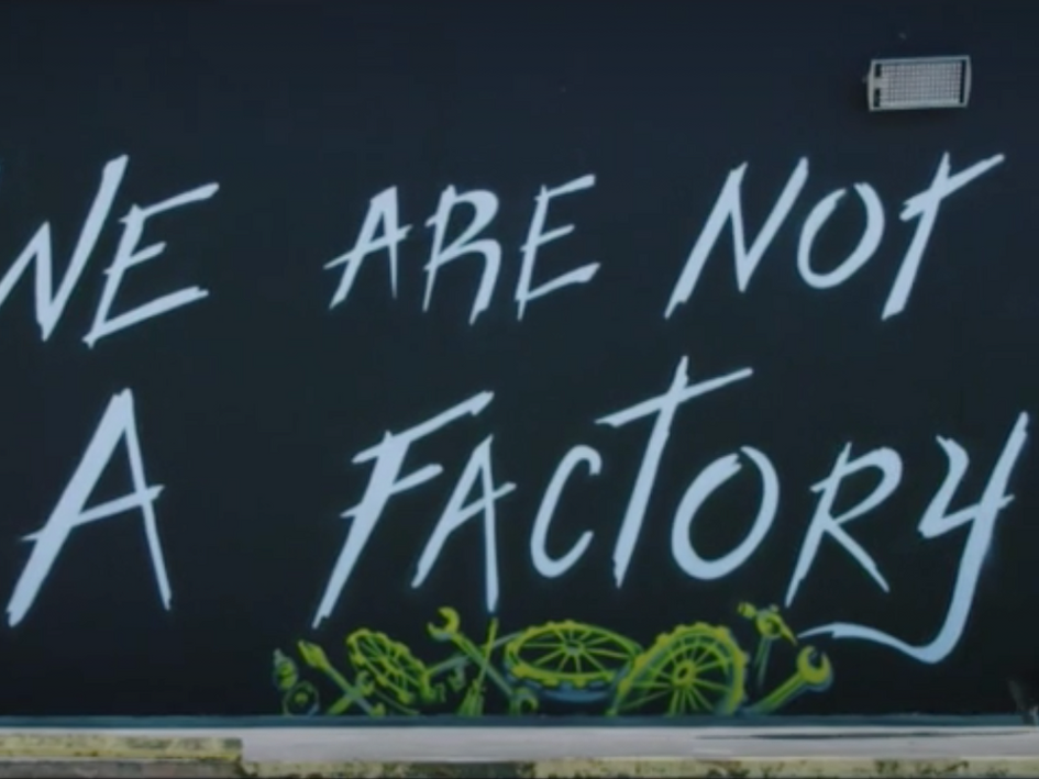 """We are not a factory"" PINCHO commercial"
