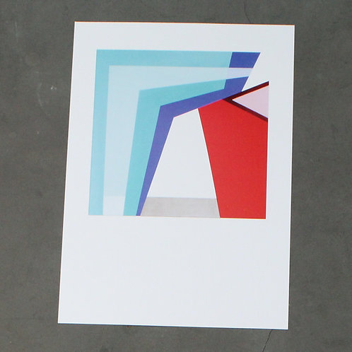 Print No. 4 Barragan Collection by Mónica Villarroel Celsi
