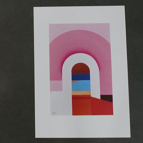 Print No. 2 Barragan Collection by Mónica Villarroel Celsi