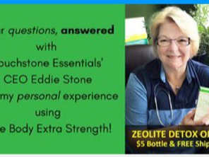 Dr T and Eddie Stone, CEO of Touchstone
