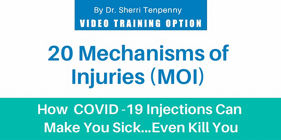 20 Mechanisms of Injury - Ebook, Video Training and Entire Transcript of the Training by Dr. Tenpenny