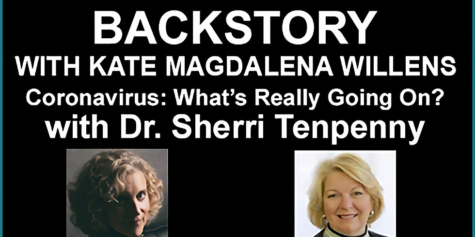 """American Freedom Radio """"Backstory"""" with Dr. Tenpenny and Kate Magdalena"""