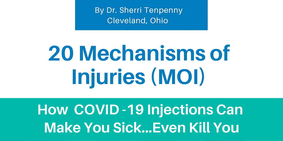 20 Mechanisms of Injury - Ebook & Video Training by Dr Tenpenny Video Recording and Transcript