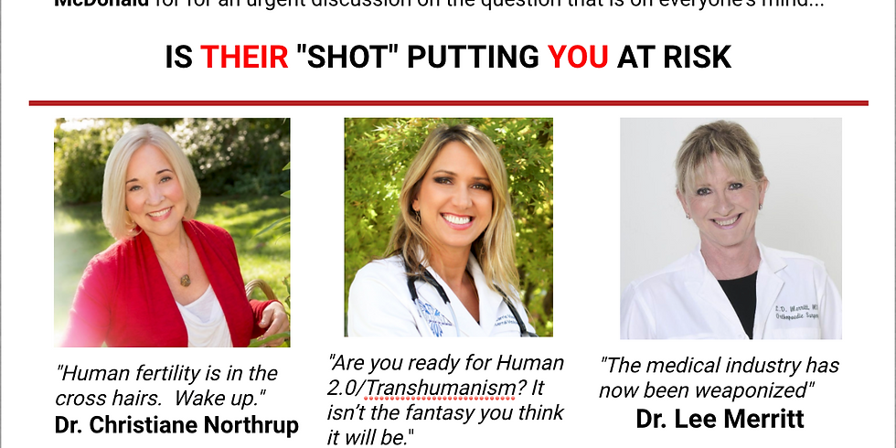 SPECIAL EVENT TONIGHT on Critically Thinking 7pm EST - Are their Shots Putting YOU at Risk