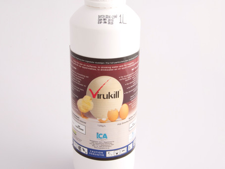 "Virukill, the ""go-to"" disinfectant."
