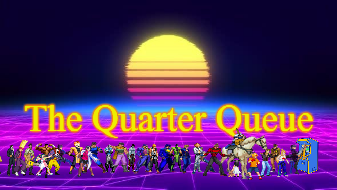 Quarter Queue (with line)