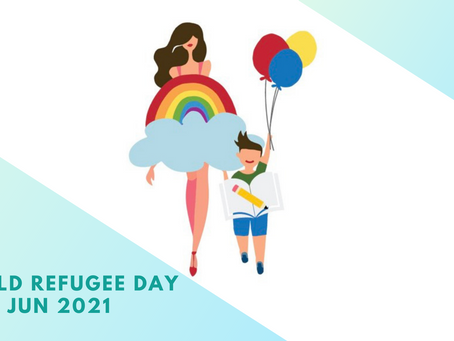 World Refugee Day 世界難民の日