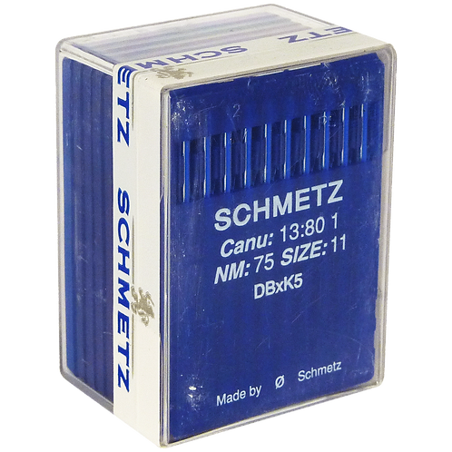 EMBROIDERY NEEDLES SIZE 75/11 SHARP POINT 100/PACK
