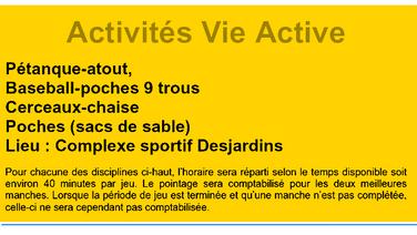 Vie active