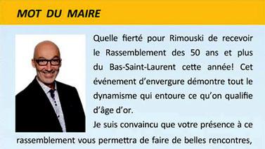 Invitation - Maire