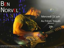 affiche_ben_norvel_au_frères_toqués_juin