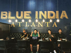 _badboyshah came through for lunch _blue