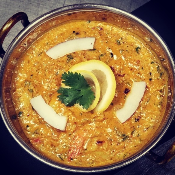 Come try our Goan Shrimp Curry! _#shrimp