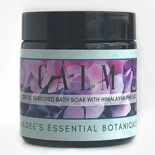 CALM CBD Infused Bath Soak with Himalayan Pink Salt