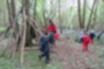 Forest School, den building