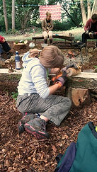 Holiday Club, woodland, Maidstone