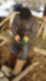 Forest School, fun and learning, safe tool use