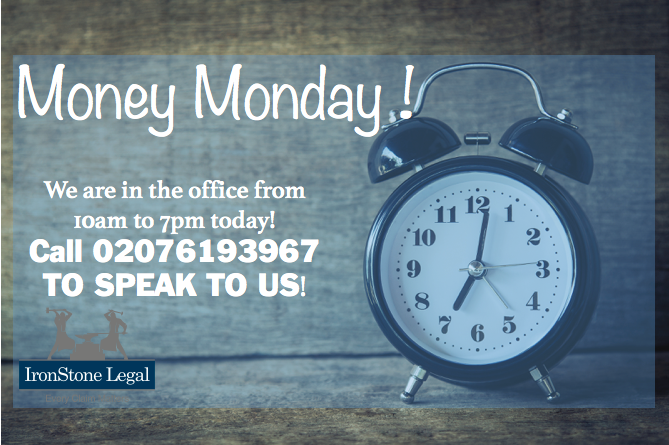 Today Is Monday, First day of the week, lets start this week with a CLAIM, are you one of the millions who have been mis-sold ppi? why not check for free online!