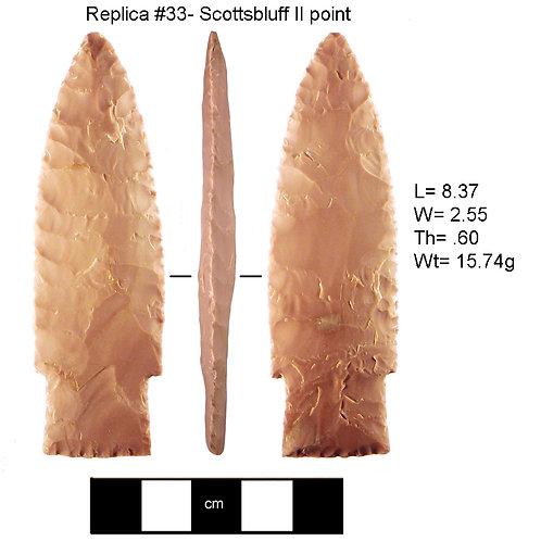 Replica 33- Scottsbluff II point