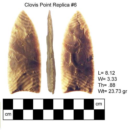 Replica #6- Clovis Point
