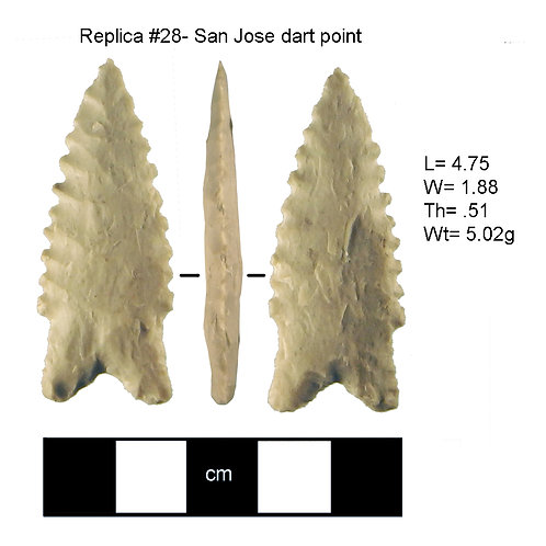 Replica 28- San Jose dart point