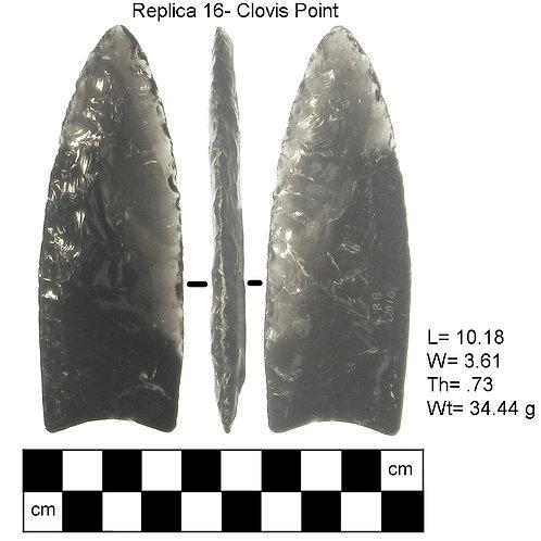 Replica #16- Clovis Point