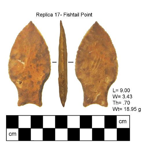 Replica #17- Fishtail Point