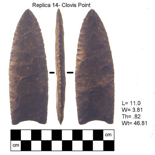 Replica #14- Clovis Point