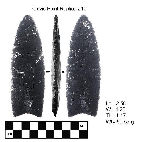 Replica #10- Clovis Point