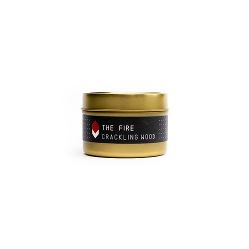 The Fire Tin Candle