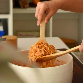 Salsa de tomates en microondas