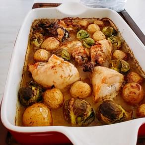 Curry horneado de pollo