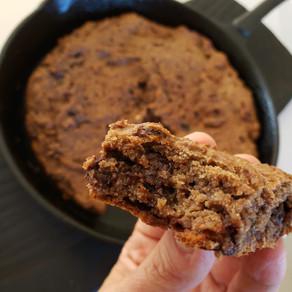 Cookie de soja y chocolate
