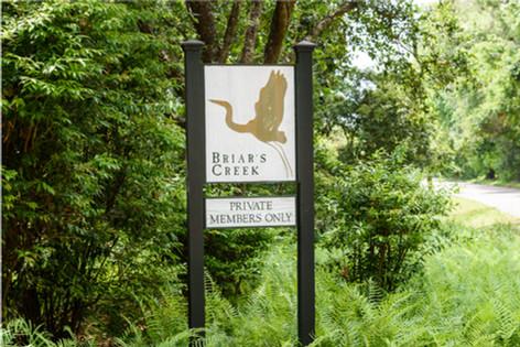 Entrance to Briar's Creek