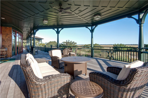 Clubhouse Porch