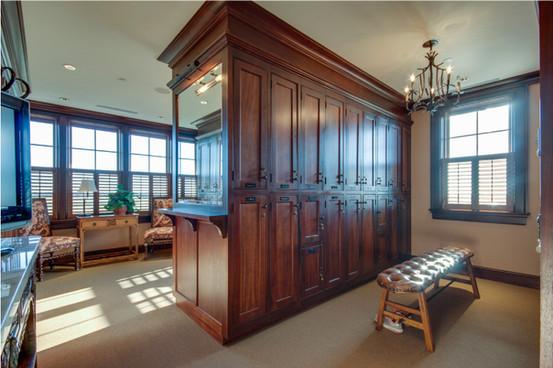 Clubhouse Locker Room