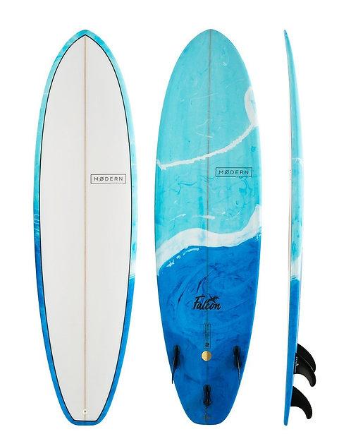MODERN FALCON – PU Blue Swirl - 7'0