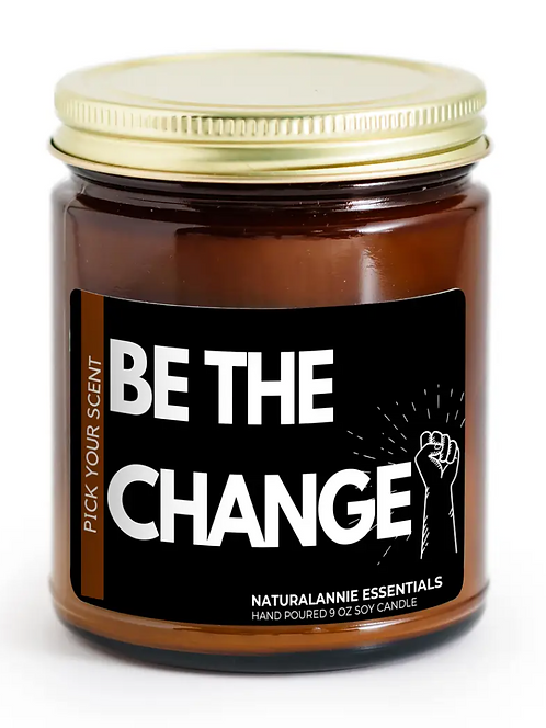 BE THE CHANGE CANDLE *ISLAND VIBES*