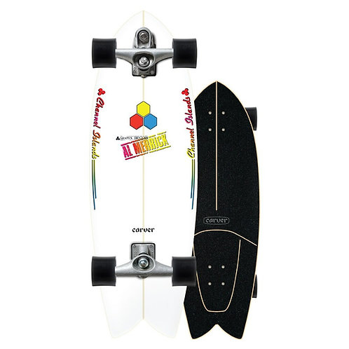 "2021 | Carver C7 Raw 30.75"" CI Fishbeard Surfskate Complete"